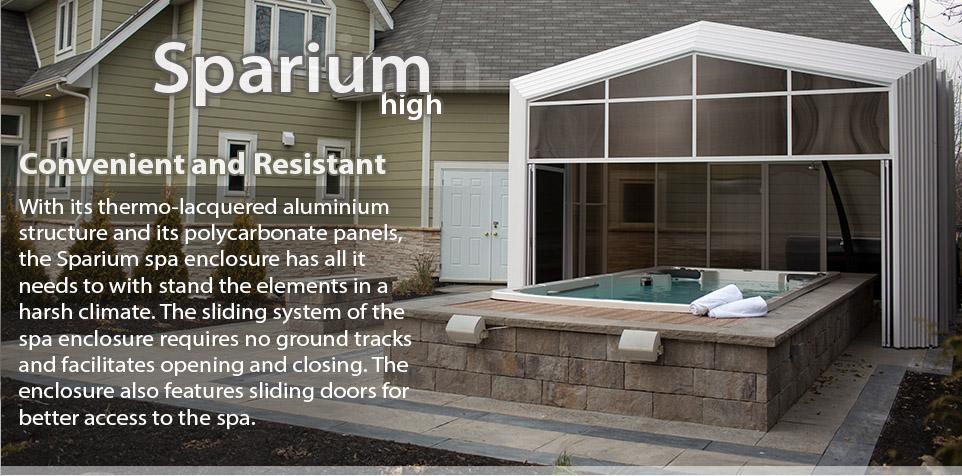 Solarium retractable sp inc site web officiel - Toit retractable pour spa ...
